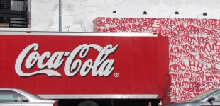 Coca Cola Truck and Twist Wall